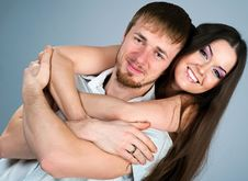 Free Young Couple Royalty Free Stock Photography - 18197157