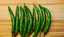 Free Green Chilli Stock Image - 18197191