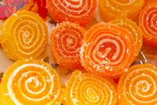 Free Colorful Fruit Sugary Candies Royalty Free Stock Photos - 18197198