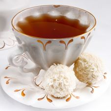 Free Closeup View Of A Tea Stock Image - 18197331