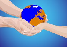 The Whole World-as A Gift Royalty Free Stock Image