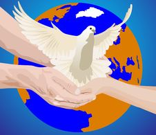 Free Peace On Earth Stock Photography - 18197682