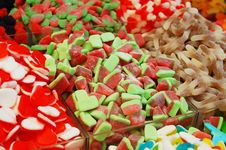 Free Many Colorful Candies Royalty Free Stock Image - 18197906