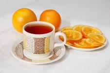 Free Tea Drinking Royalty Free Stock Photography - 18198127