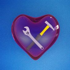 Free Heart Instruments Royalty Free Stock Image - 18199296
