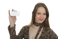 Free Busines Card Royalty Free Stock Photo - 1820225