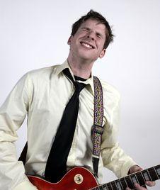 Free Playing Guitar Stock Photo - 1820260