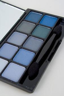 Free Blue Eyeshadow Royalty Free Stock Images - 1820379
