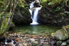 Free Waterfall With Splashpool Royalty Free Stock Photography - 1822427