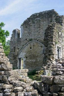 Free Kirkham Priory Royalty Free Stock Photography - 1822587