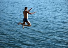 Free Boy Jumping Royalty Free Stock Images - 1822929