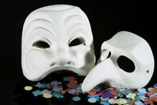 Free Carnival Mask Royalty Free Stock Photos - 1823058