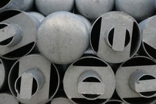 Free Metal  Poles Royalty Free Stock Photography - 1823077