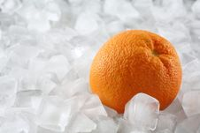 Free Orange On Ice Stock Photos - 1823473