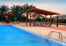 Free Pool Rest Area Royalty Free Stock Photography - 1823497