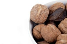 Free Food - Bowl Of Nuts Royalty Free Stock Photos - 1823838