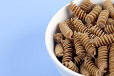 Free Food - Wholewheat Pasta Stock Photo - 1824020