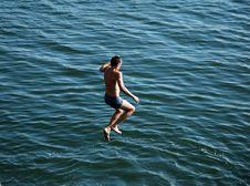 Free Boy Jumping Royalty Free Stock Photos - 1824138