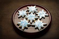 Food - Sugar Cookies Royalty Free Stock Photos