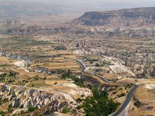 Free Sandstone Formations In Cappadocia Stock Images - 1824474