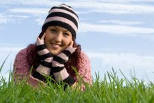 Happy Smiling Girl Stock Photography