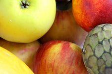 Free Fruits Background Royalty Free Stock Photo - 1825985