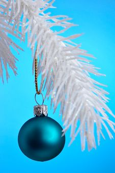 Christmas Ornament Hanging Stock Photography