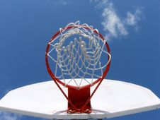 Free Up The Hoop Royalty Free Stock Images - 1828189