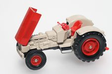 Free Toy Tractor With Open Bonnet Stock Images - 1828364