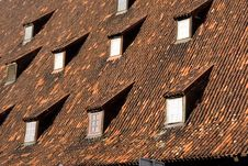 Free Tiled Roof Royalty Free Stock Photos - 1828638