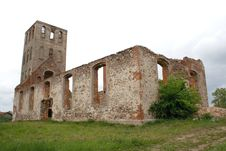 Free Ruins Of Medieval Church Royalty Free Stock Image - 1829046