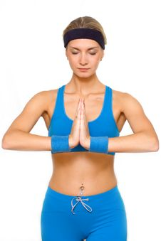 Free Yoga Trainer Royalty Free Stock Images - 1829209