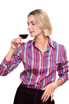 Free Wine Degustator Stock Photography - 1829302