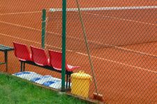 Tennis Playground Royalty Free Stock Images