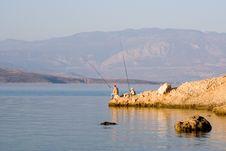 Free Sea Fishing Royalty Free Stock Photo - 1829685