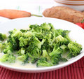Free Stew Of Broccoli Royalty Free Stock Photo - 18200845