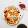 Free Tasty Pancakes With A Syrup Royalty Free Stock Photo - 18205735
