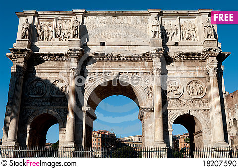 Free The Arch Of Constantine Stock Photo - 18207590