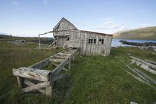 Free Abandon Timber Mill In West Iceland Royalty Free Stock Photo - 18200105