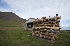 Free Driftwood In West Iceland Royalty Free Stock Photos - 18200128