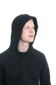 Free Young Man In Hooded Top Stock Photography - 18200292