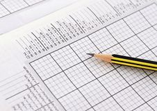 Free Partially Solved Sudoku Stock Photography - 18200542