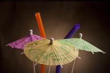 Free Paper Umbrella Royalty Free Stock Image - 18200726