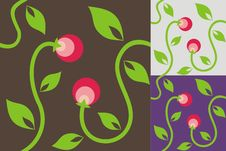 Free Abstract Background With Berries Stock Images - 18201064