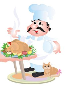 Free Cook Chef Stock Images - 18201504