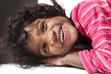 Free Portrait Of Little Indian Girl Stock Photos - 18201573