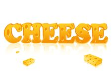Word Cheese Stock Photos