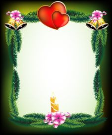 Free Valentine S Day Original Holiday Frame Stock Images - 18202794