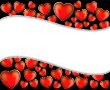Free Valentine S Day Wavy Background Royalty Free Stock Image - 18202796