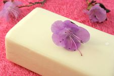 Free Flower Soap Royalty Free Stock Photos - 18202918